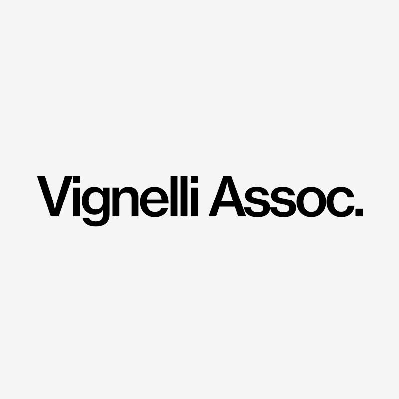archivio grafica italiana vignelli associates